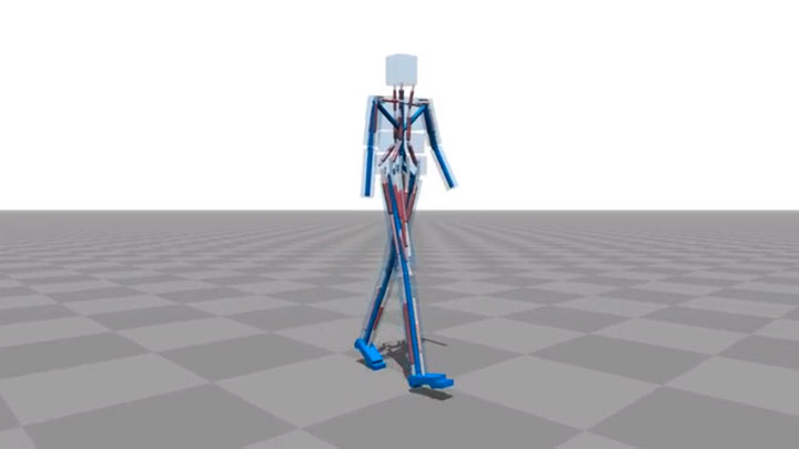 Amazing Computer Program Simulates Body Muscle Actions To Learn Walking-1