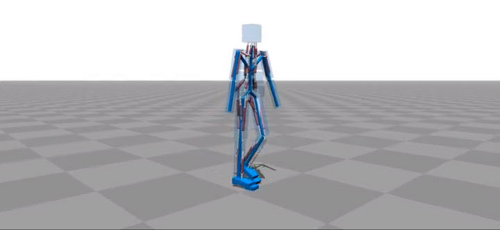 Amazing Computer Program Simulates Body Muscle Actions To Learn Walking-3