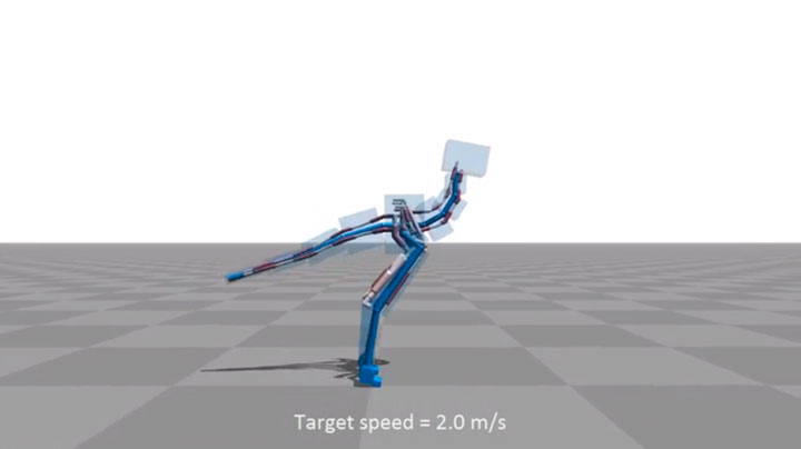 Amazing Computer Program Simulates Body Muscle Actions To Learn Walking-8