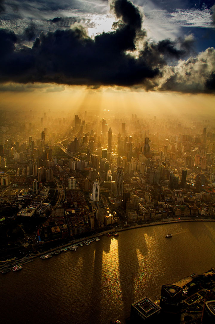 The Beauty Of Shanghai Revealed From A Crane At Height Of 600 Meters-16