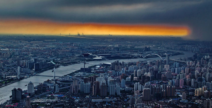 The Beauty Of Shanghai Revealed From A Crane At Height Of 600 Meters-4