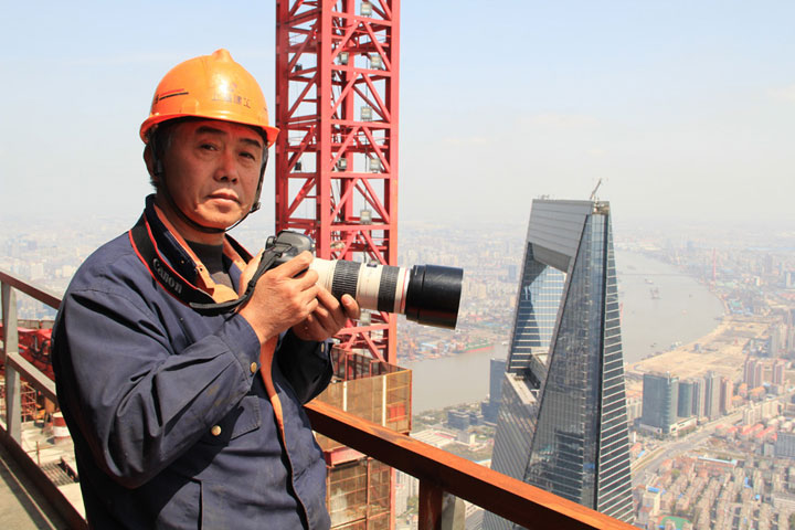 The Beauty Of Shanghai Revealed From A Crane At Height Of 600 Meters-9