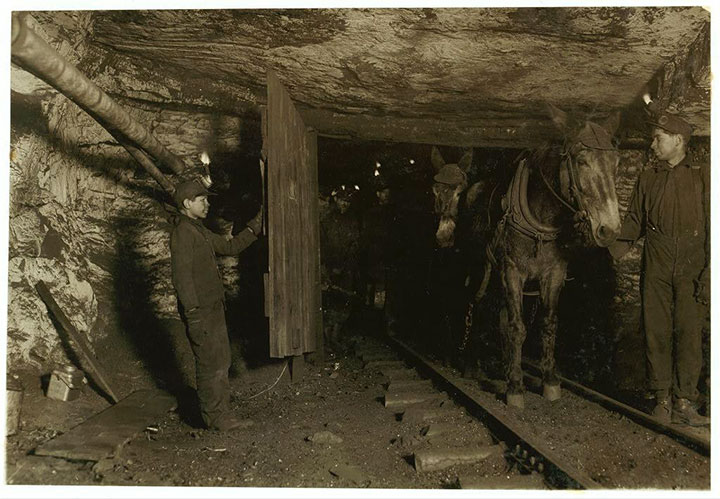 Child labour in a mine in Pittston, PA-20 Photographs Showing The Child Labor Conditions In Early Twentieth Century-4