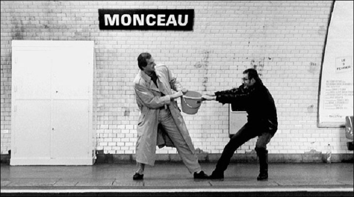 A Photographer Stages Wacky Scenes With Paris Subway Station Names-23