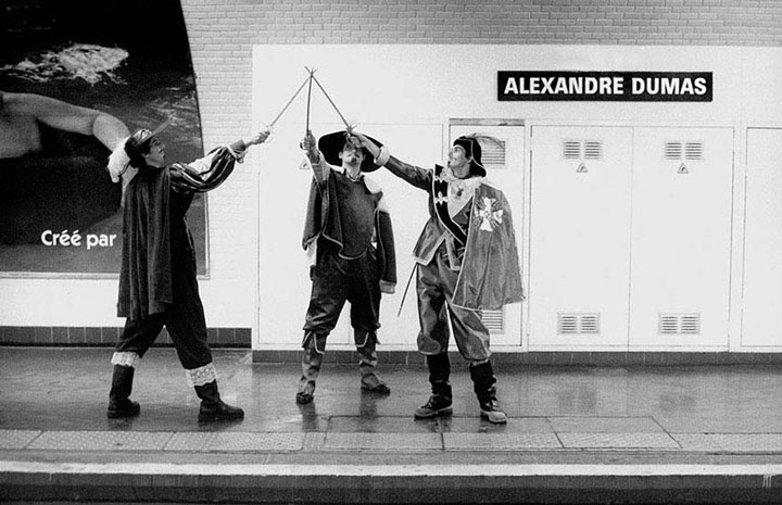 A Photographer Stages Wacky Scenes With Paris Subway Station Names-5