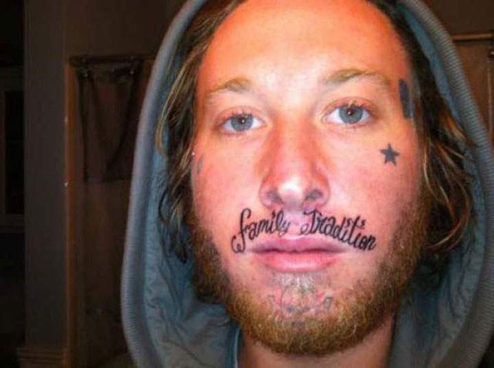 20 Crazy (Worst) Tattoos That These People Would Regret Immediately-8