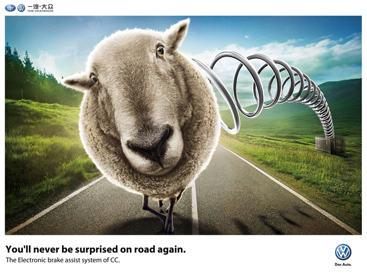Volkswagen-Creative Advertisements That Will Make You Die Laughing-10