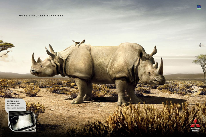 Mitsubishi-Creative Advertisements That Will Make You Die Laughing-18