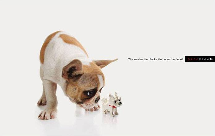 Nano block-Creative Advertisements That Will Make You Die Laughing-4