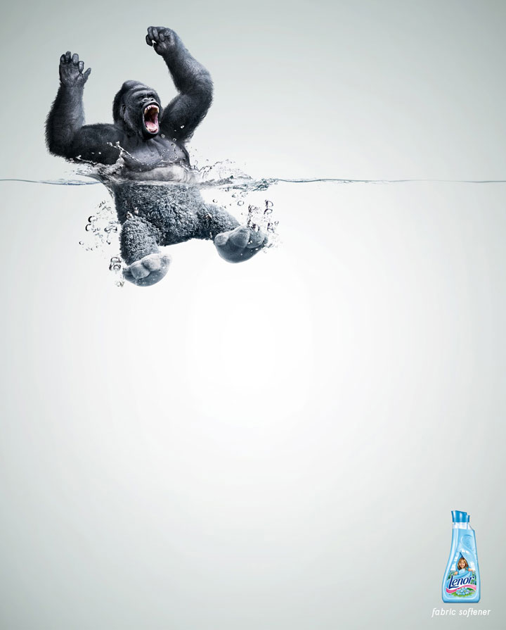 Lenor-Creative Advertisements That Will Make You Die Laughing-6