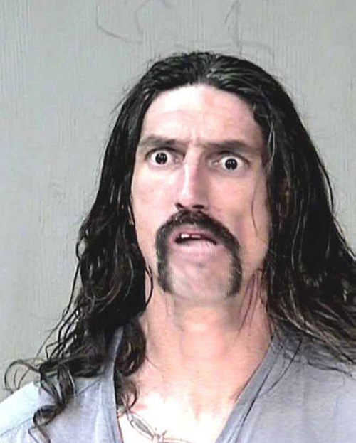 The 20 Creepy And Funny Mugshot Photographs Of Prisoners -10