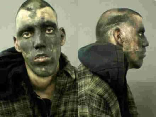 The 20 Creepy And Funny Mugshot Photographs Of Prisoners -17