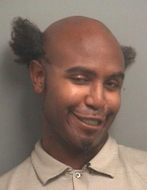 The 20 Creepy And Funny Mugshot Photographs Of Prisoners -18
