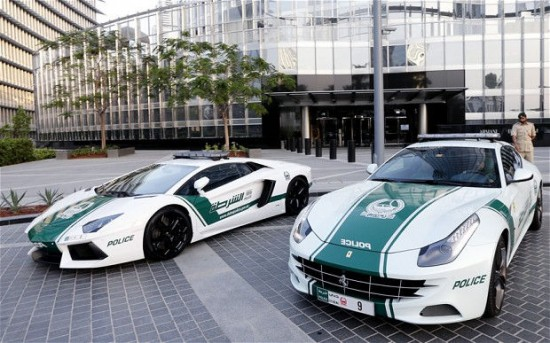 Dubai: The Glamorous Fleet Of Fast Police Cars-