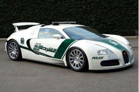 Dubai: The Glamorous Fleet Of Fast Police Cars-2