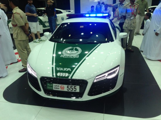 Dubai: The Glamorous Fleet Of Fast Police Cars-3