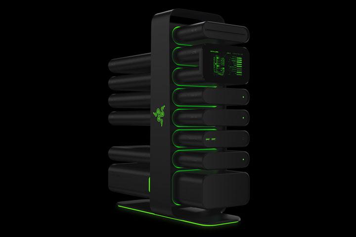 Razer's New Modular Computer Concept That Even A Novice Can Assemble-