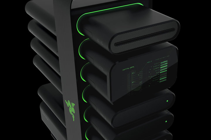 Razer's New Modular Computer Concept That Even A Novice Can Assemble-4