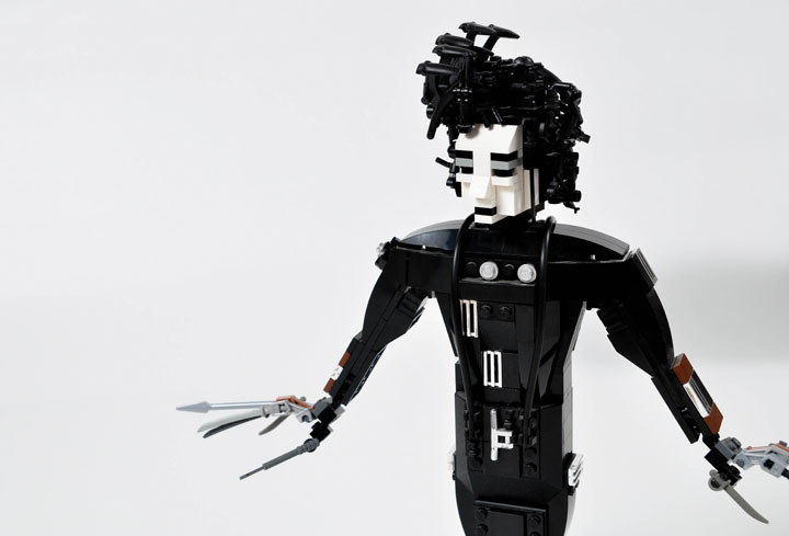 A Passionate Creates Realistic Sculptures Of Pop Culture Icons With LEGO-