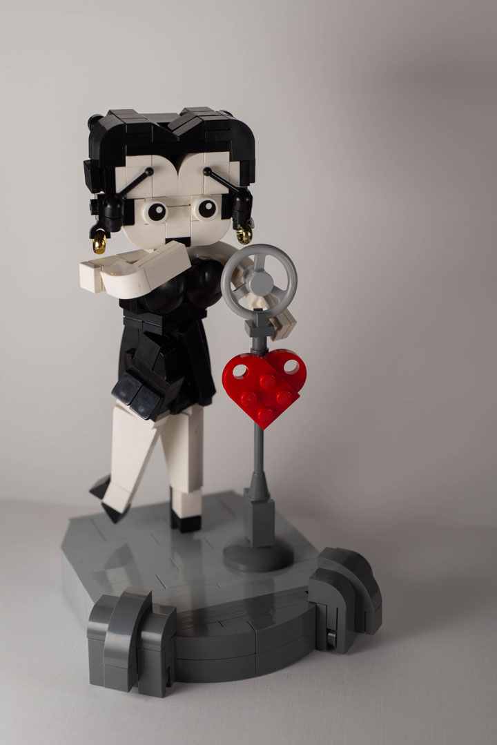 A Passionate Creates Realistic Sculptures Of Pop Culture Icons With LEGO-9