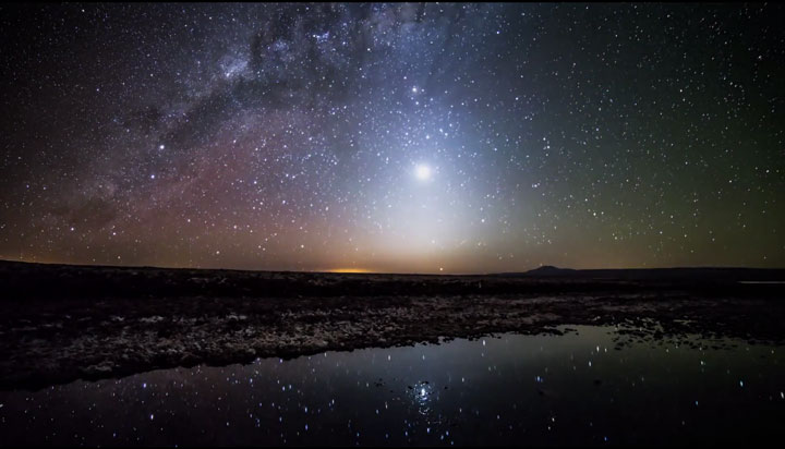 The Starry Sky Of The Atacama Desert, San Pedro, South America, Reveals Its Splendor (Video)-2