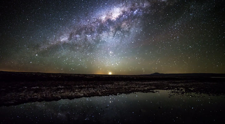 The Starry Sky Of The Atacama Desert, San Pedro, South America, Reveals Its Splendor (Video)-4