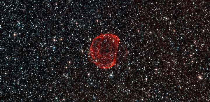 The remains of an ancient supernova-Stunning Photographs Of Our Universe Taken By The Hubble Telescope-18