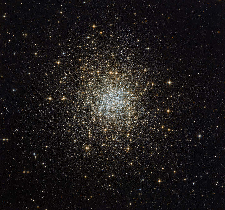 The globular cluster  Palomar 2-Stunning Photographs Of Our Universe Taken By The Hubble Telescope-19