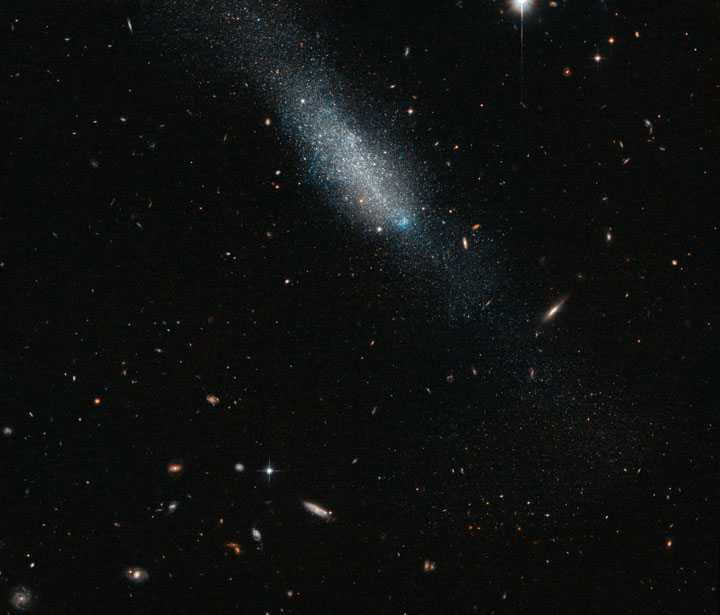 The galaxy ESO 149-3-Stunning Photographs Of Our Universe Taken By The Hubble Telescope-8