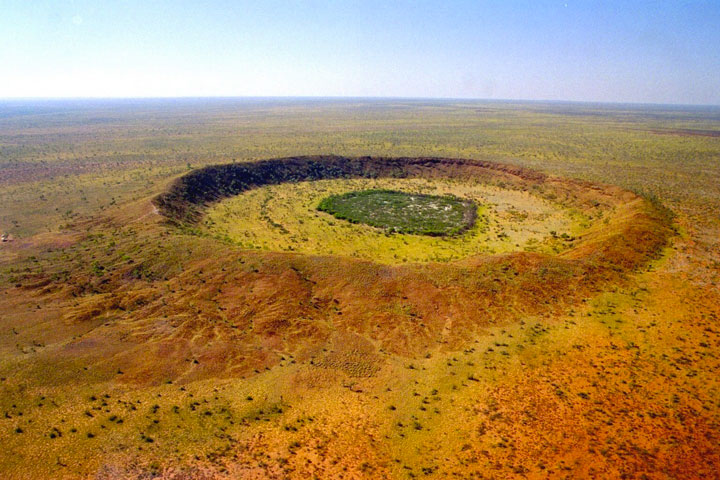 Wolfe Creek Crater, Australia-The Top 15 Most Impressive/strange Craters On the surface of Earth-12