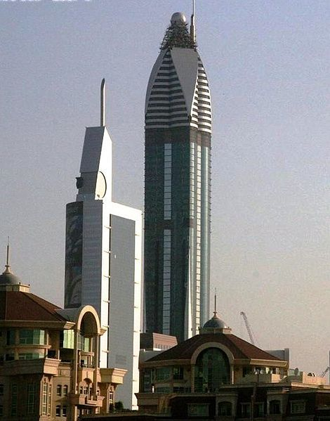 The Rose Tower, United Arab Emirates-The Top 10 Most Useless Skyscrapers Buildings Of The World-2