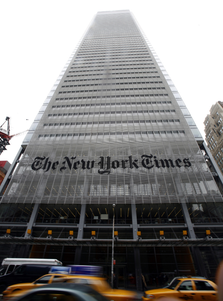 New York Times Tower - NYC -The Top 10 Most Useless Skyscrapers Buildings Of The World-4