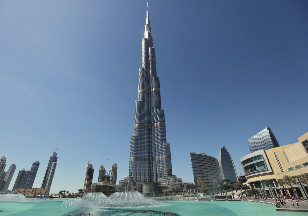 The Burj Khalifa - United Arab Emirates -The Top 10 Most Useless Skyscrapers Buildings Of The World-9