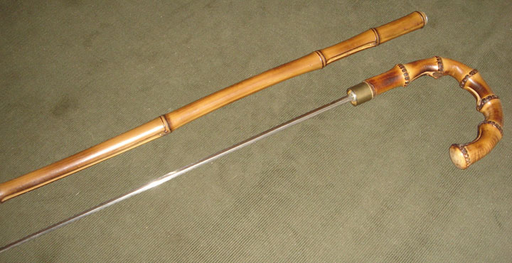 The sword stick-Unusual Types Of Arms Captured At The U.S. Airports-2