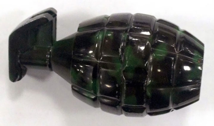 Fake grenades and different explosives-Unusual Types Of Arms Captured At The U.S. Airports-7