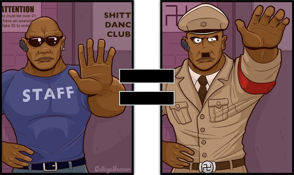 nightclub staff is your enemy-Series Of Hilarious Illustrations Shows How Alcohol Impairs Your Judgment-6