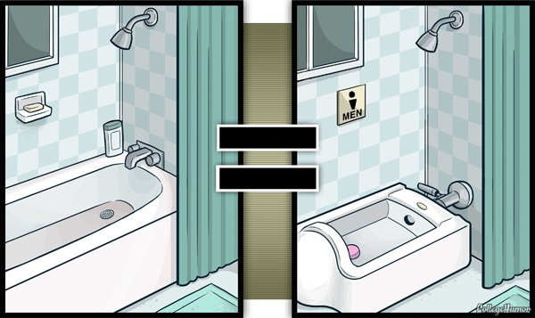 bath tub becomes urinal bath-Series Of Hilarious Illustrations Shows How Alcohol Impairs Your Judgment-9