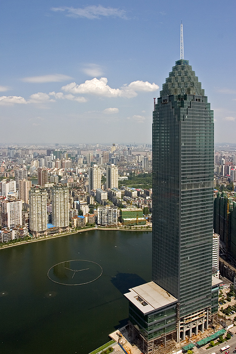 most useless skyscrapers-The Minsheng Bank Building in Wuhan, China