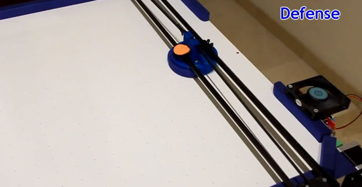 A Passionate Of Air Hockey Turns 3D printer Into A Ruthless Robotic Opponent-5