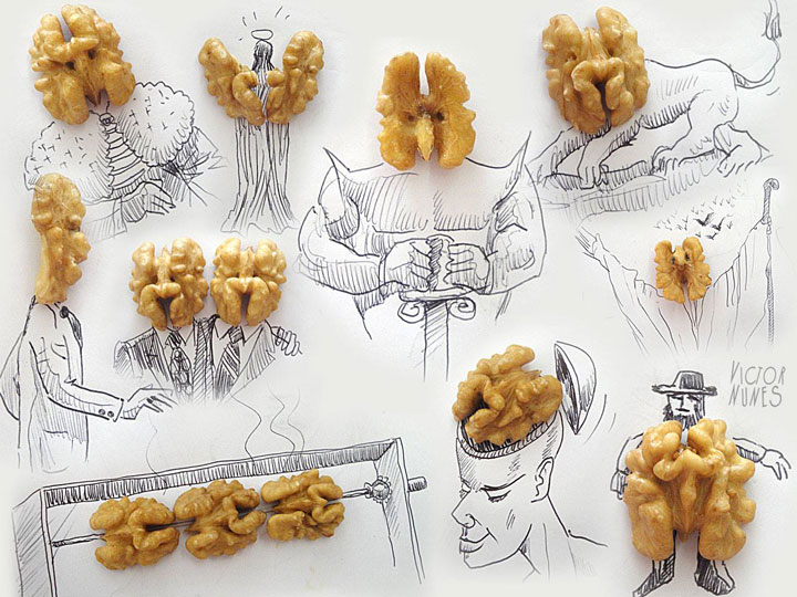 Portugese artist creates Amazing Artworks Created Using Just A Pen And Everyday Objects-1
