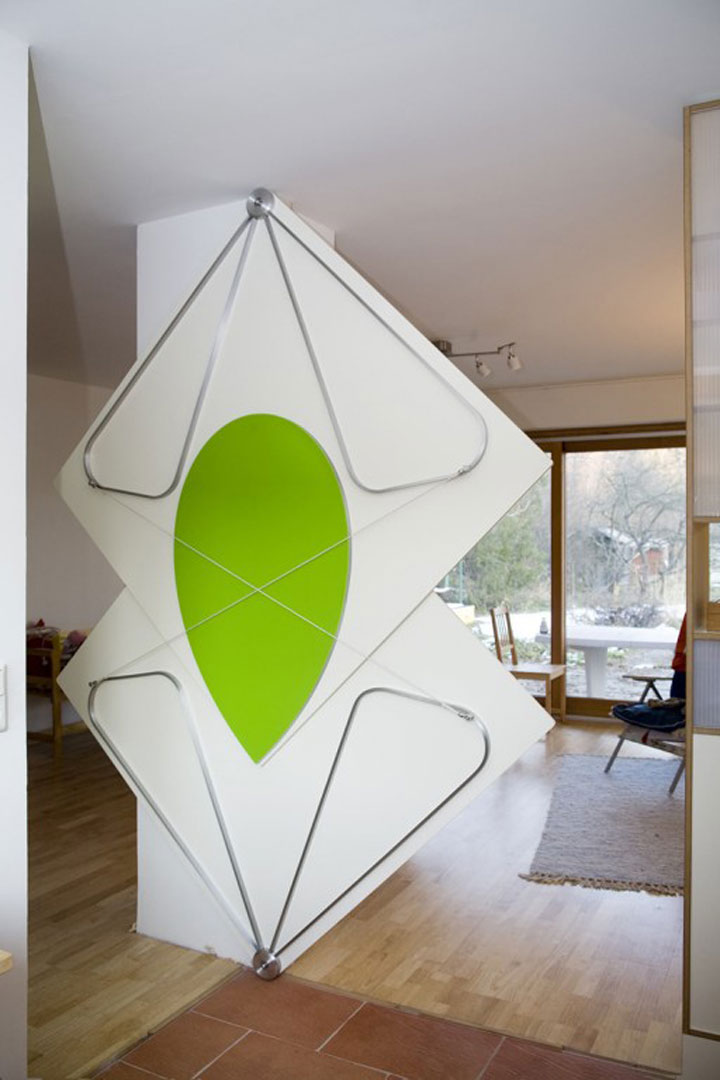 Kelemens Torggler Amazing Doors Fold Onto Themselves Like Origami-