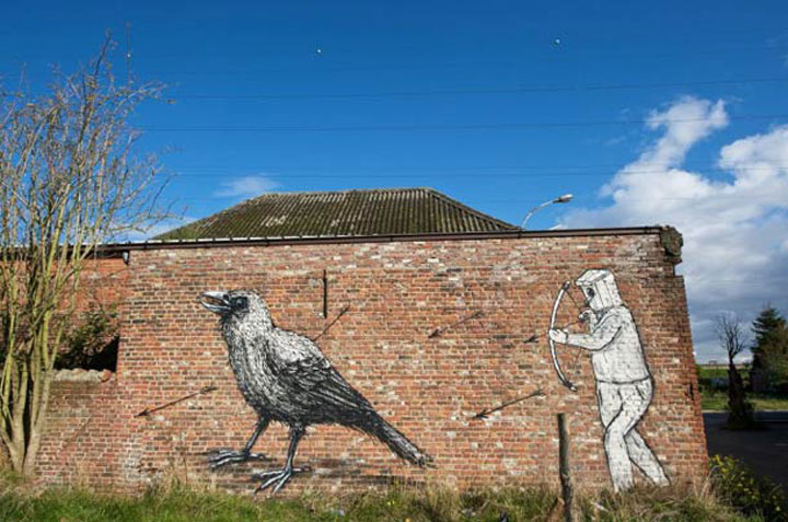 An Abandoned Flemish City Becomes A Giant Canvas Dedicated To Street Art (Photo Gallery)-15
