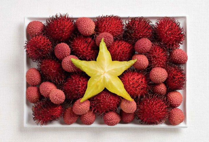Vietnam-18 Appetizing National Flags Made Using Their Delicious Food Dishes-10