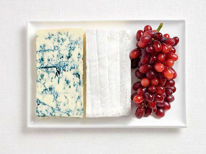 France-18 Appetizing National Flags Made Using Their Delicious Food Dishes-15