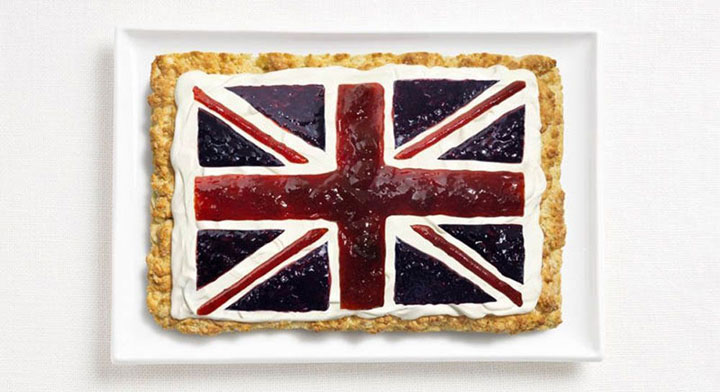 UK-18 Appetizing National Flags Made Using Their Delicious Food Dishes-9