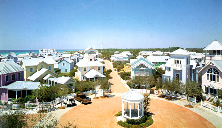Seaside - Florida-Atypical architecturaly exotic Cities-21
