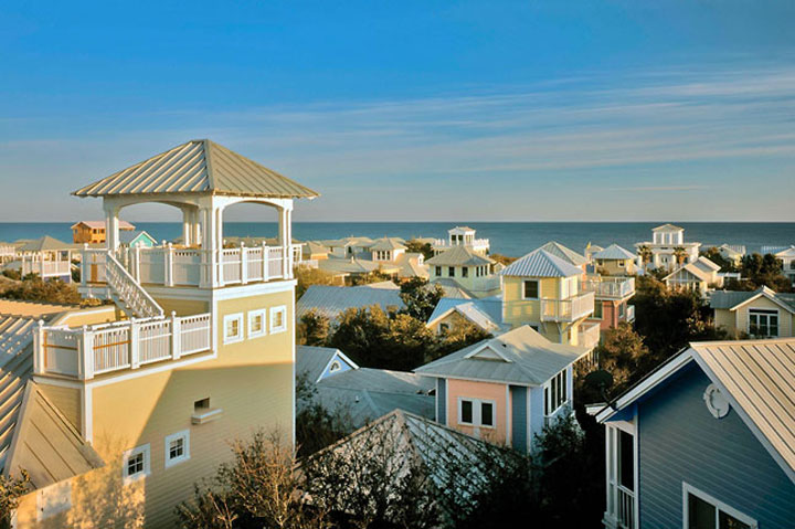 Seaside - Florida-Atypical architecturaly exotic Cities-22