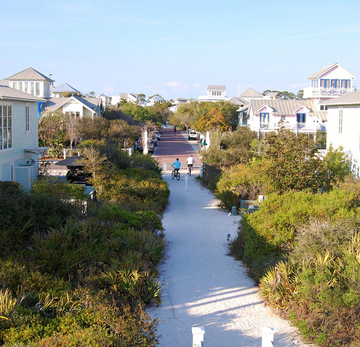 Seaside - Florida-Atypical architecturaly exotic Cities-23