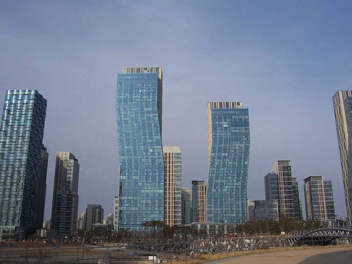Songdo - South Korea-Atypical architecturaly exotic Cities-26