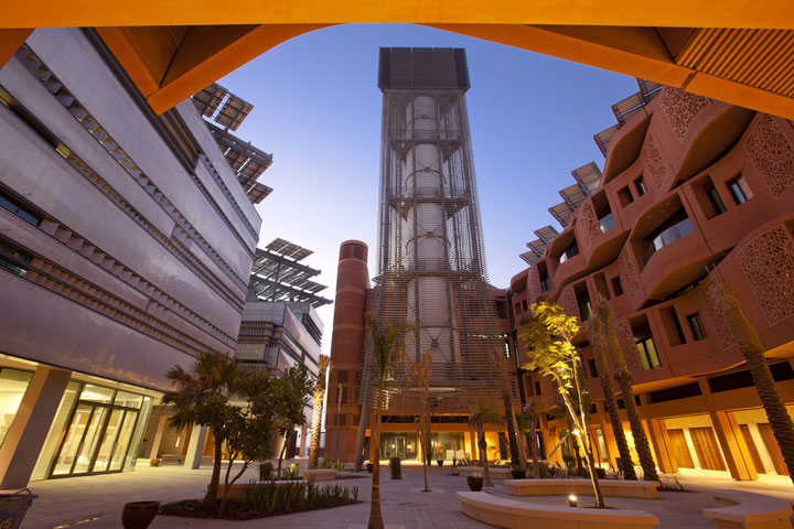 Masdar City - UAE-Atypical architecturaly exotic Cities-3